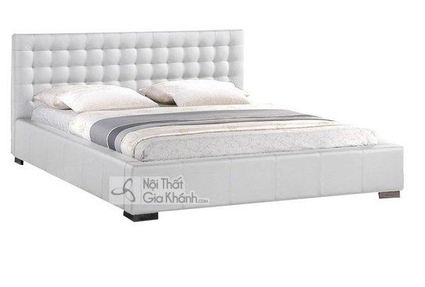 Giường Ngủ Màu Trắng Đẹp Tinh Tế