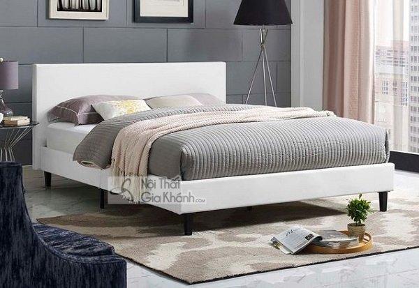 Giường Ngủ Màu Trắng 6 Chân Độc Đáo