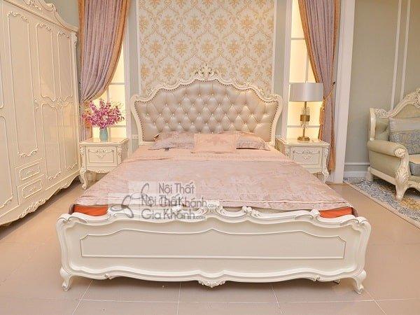 Giường ngủ màu trắng - giuong ngu mau trang