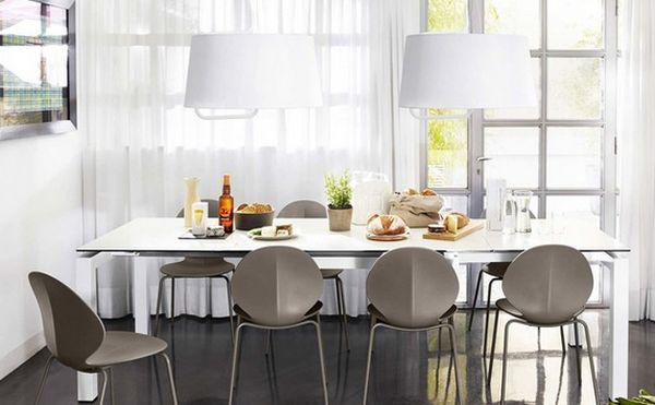 Mẫu bàn ghế đẹp phòng bếp và bàn ghế phòng ăn mới nhất 2019 - mau ban ghe dep phong bep va ban ghe phong an moi nhat 2019 3