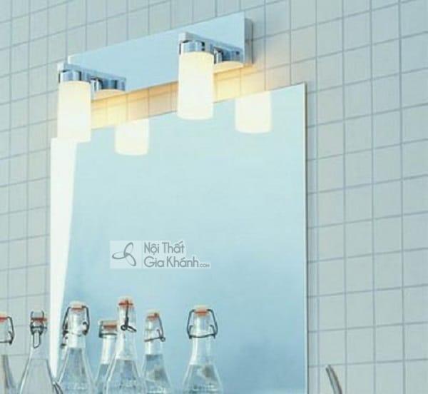 Mẫu đèn trang trí nhà tắm, nhà vệ sinh đơn giản mà không hề đơn điệu - mau den trang tri nha tam nha ve sinh don gian ma khong he don dieu 4