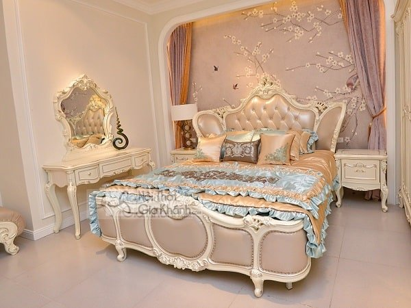 Giường Ngủ Tân Cổ Điển Hoàng Gia