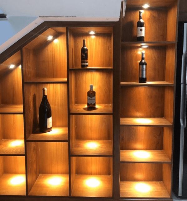 Đèn Trang Trí Tủ Rượu Kính Đẹp