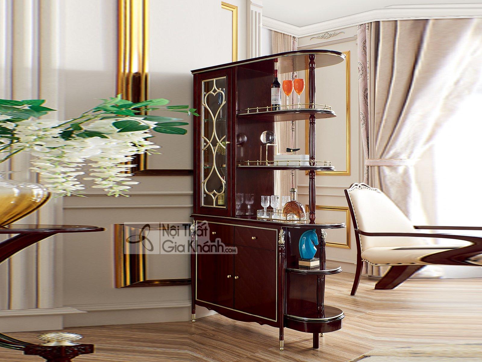 Bộ nội thất phòng ăn gỗ tân cổ điển PA302