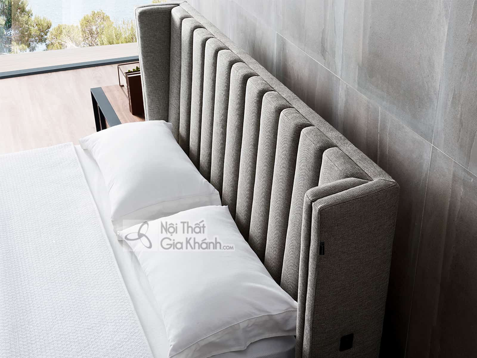 Giường Ngủ Bọc Vải Hiện Đại Nhập Khẩu Gi1807