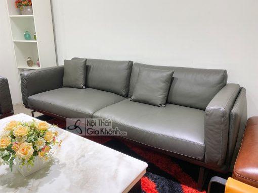 Sofa Phòng Khách Bọc Da Thật 100% Sb0064T-3