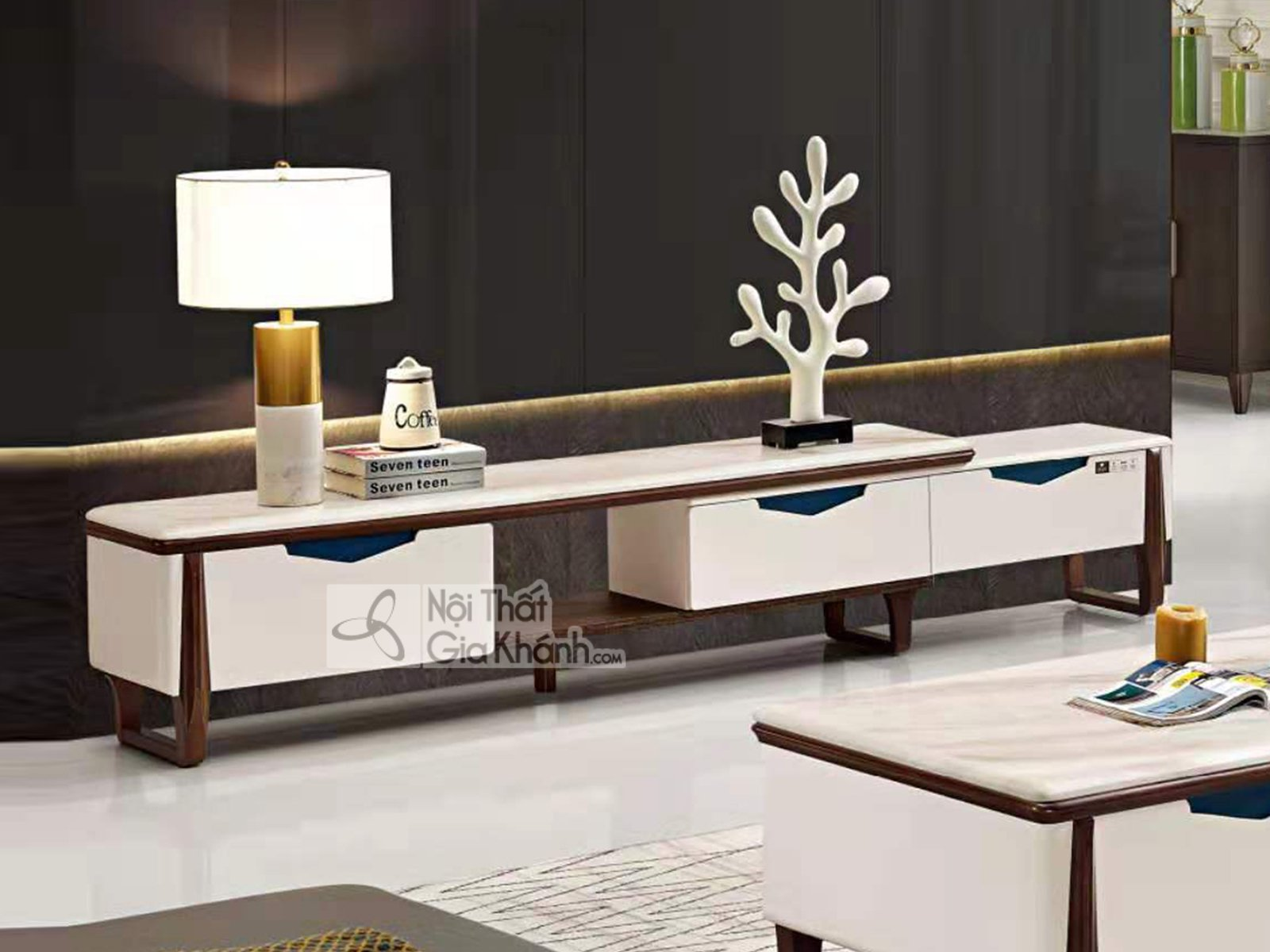 Kệ tivi hiện đại đẹp cho phòng khách KT0025D
