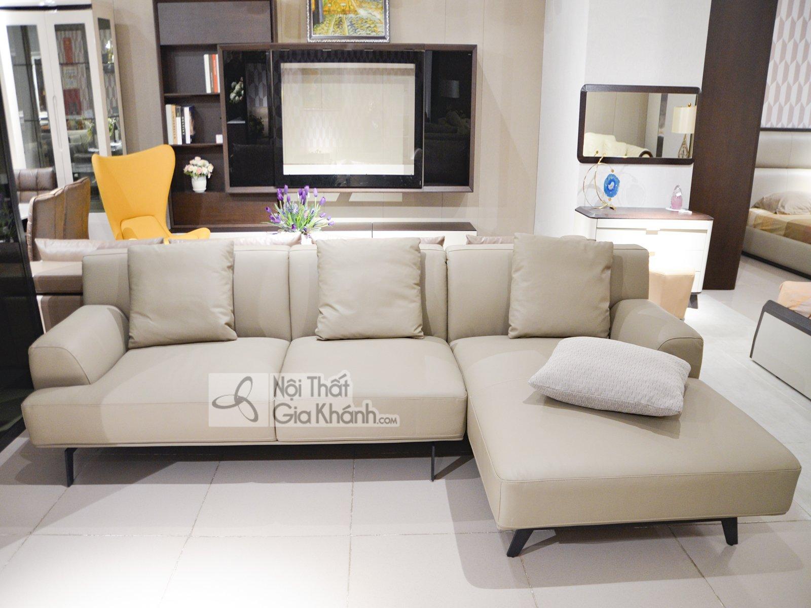 sofa da phong cach hien dai mbk 8037sf - Sofa da chữ L nhập khẩu phong cách Ý ST8037T50-2