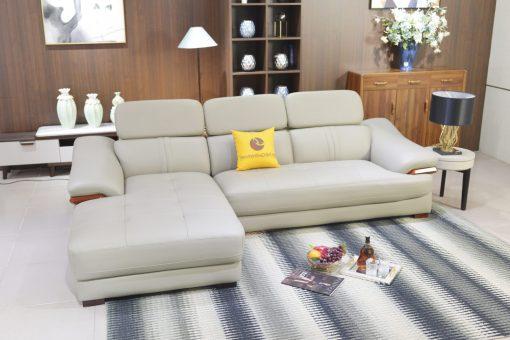 Sofa Da 2 Băng Góc Phải Sp0672-2-B1
