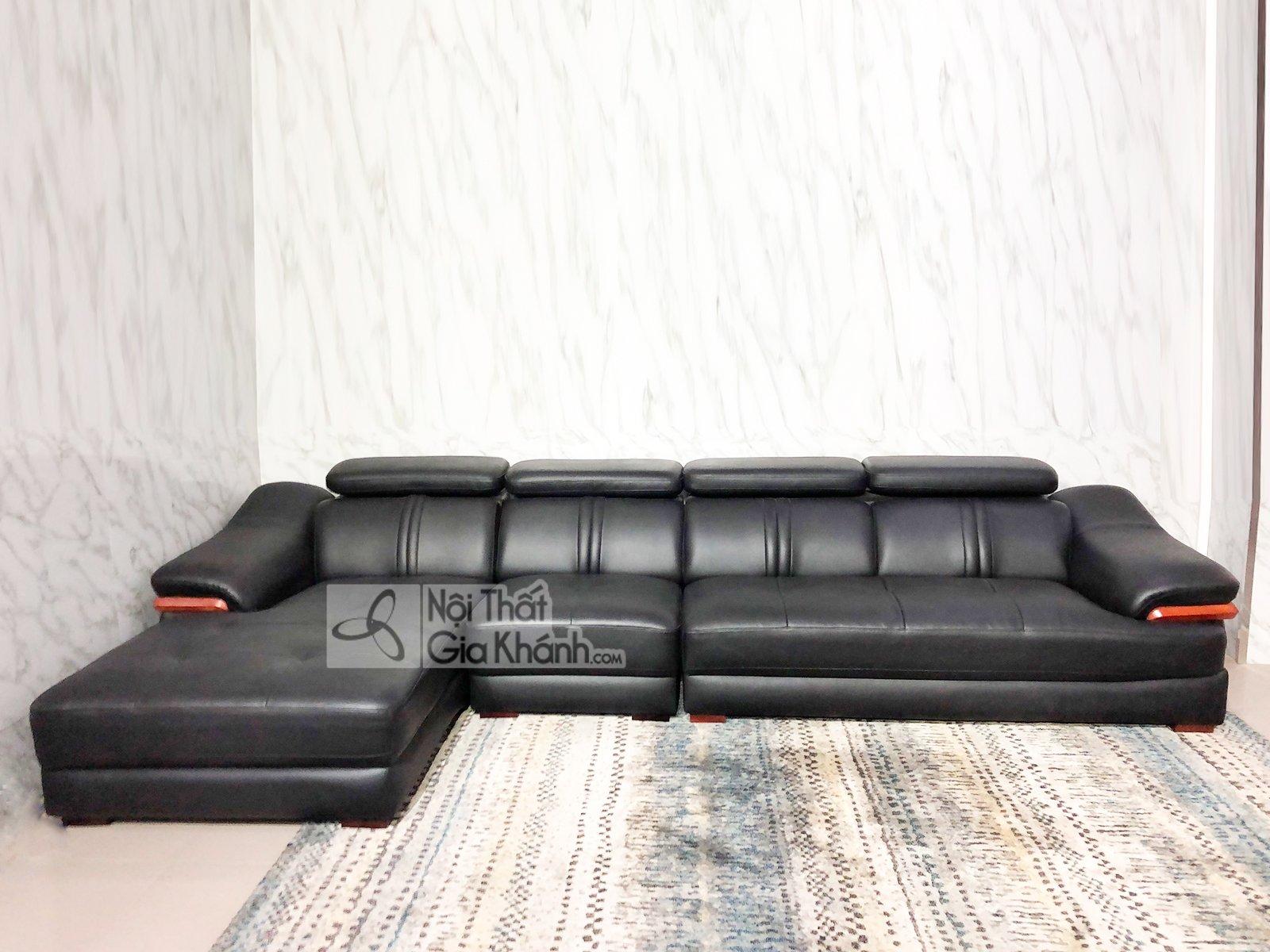 sofa da 3 bang goc phai phong khach 6724d sf 2 - SOFA DA 3 BĂNG GÓC PHẢI PHÒNG KHÁCH 6724D-SF