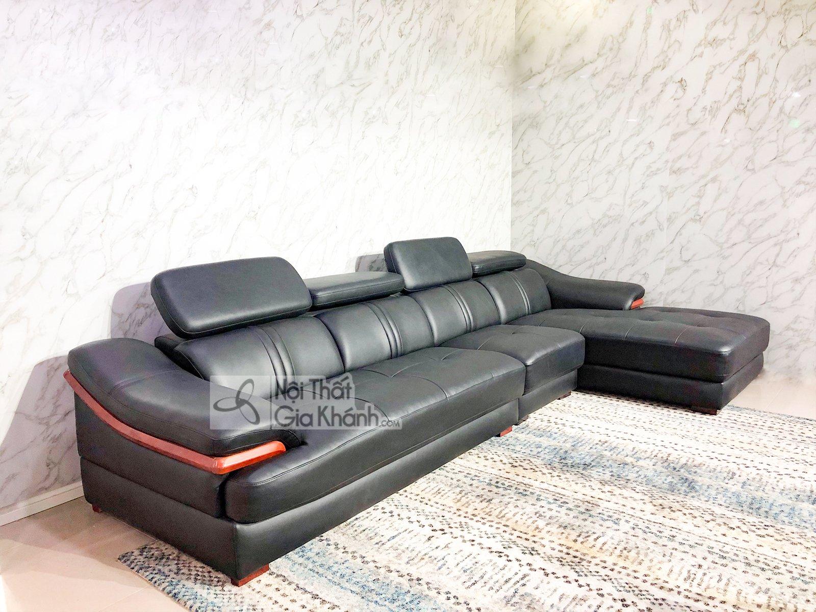 sofa da 3 bang goc trai phong khach 6725d sf 2 - SOFA DA 3 BĂNG GÓC TRÁI PHÒNG KHÁCH 6723D-SF