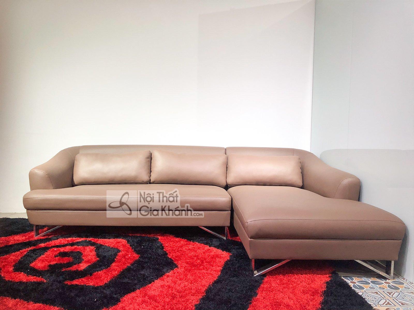 Sofa Da Hiện Đại 2 Băng Góc Trái Cho Phòng Khách 1607Nt-Sf