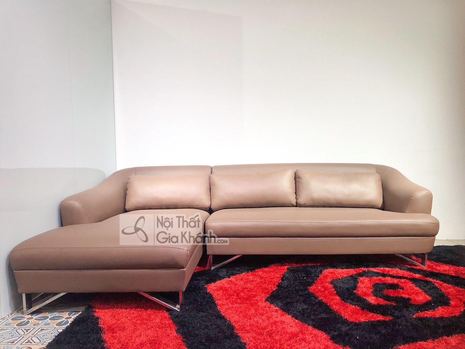 Sofa Da Hiện Đại 2 Băng Góc Phải  Sp1607-2-I1