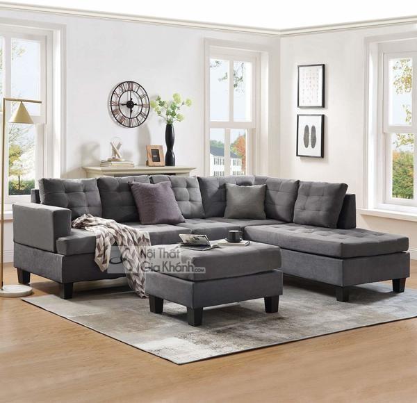 1001 Cách Kết Hợp Đồ Nội Thất Với Sofa Màu Xám Lông Chuột Cực Thu Hút!
