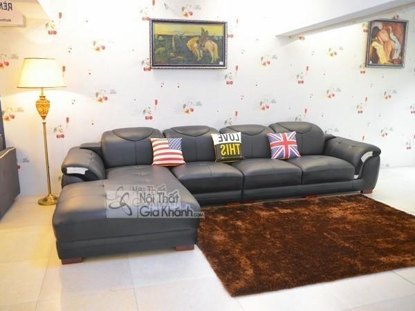 50 Mẫu Ghế Sofa Màu Đen Ấn Tượng, Lôi Cuốn