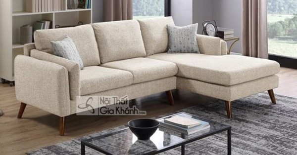 Sofa Góc Nhỏ Màu Be