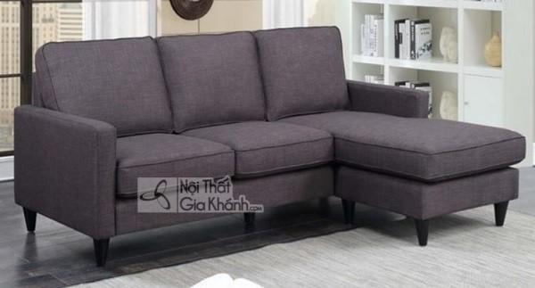 Sofa Góc Nhỏ Màu Ghi