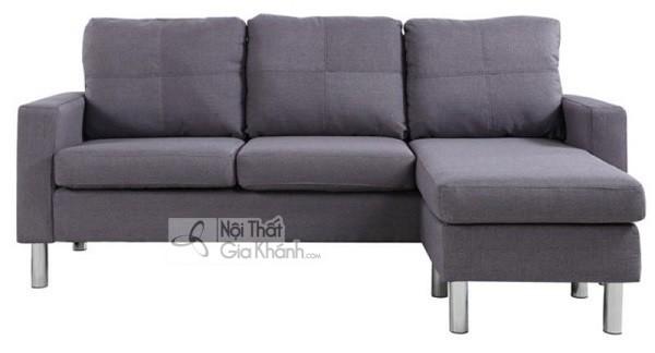 Sofa Mini Góc Nhỏ Gọn Màu Xám