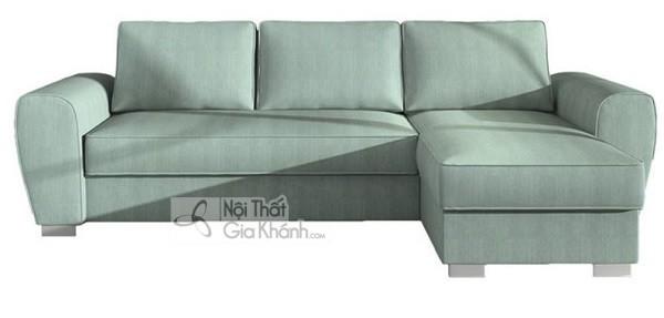 Sofa Mini Góc Nhỏ Gọn Màu Xanh