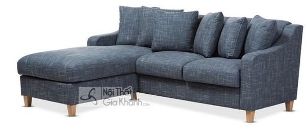 Sofa Mini Góc Nhỏ Gọn Chân Gỗ