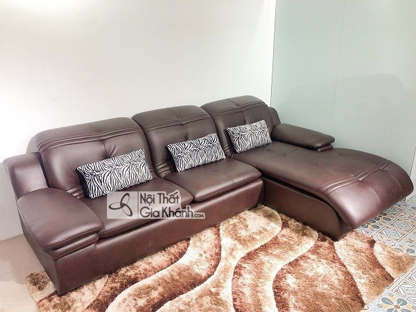 Sofa Mini Góc Nhỏ Da Bò
