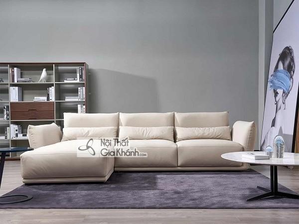 Sofa Mini Góc Nhỏ Màu Kem