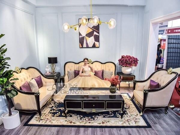 Bộ Bàn Ghế Sofa Hoàng Gia Nhập Khẩu