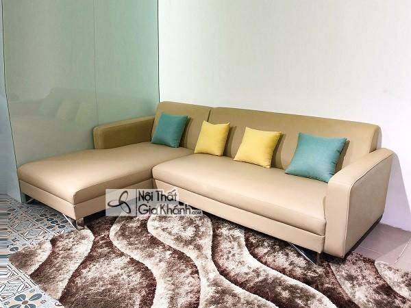 Sofa Gỗ Cho Phòng Nhỏ Chung Cư