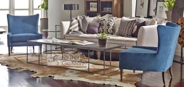 Ghế Sofa Gỗ Nhỏ Phòng Khách
