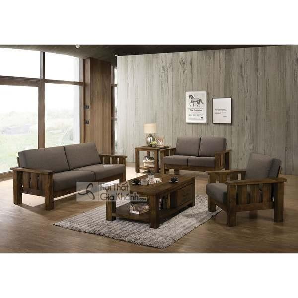 Có Nên Sử Dụng Ghế Sofa Gỗ Sồi Nệm Cho Phòng Khách?