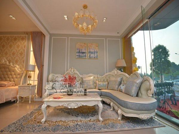 Ghế Sofa Phòng Khách Rộng Lớn Nên Chọn Kiểu, Chất Liệu, Kích Thước Thế Nào?