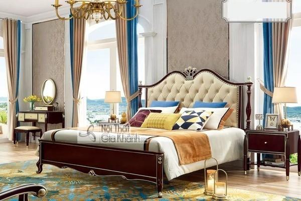 Mua ngay 50+ mẫu giường ngủ gỗ phù hợp mọi không gian nội thất