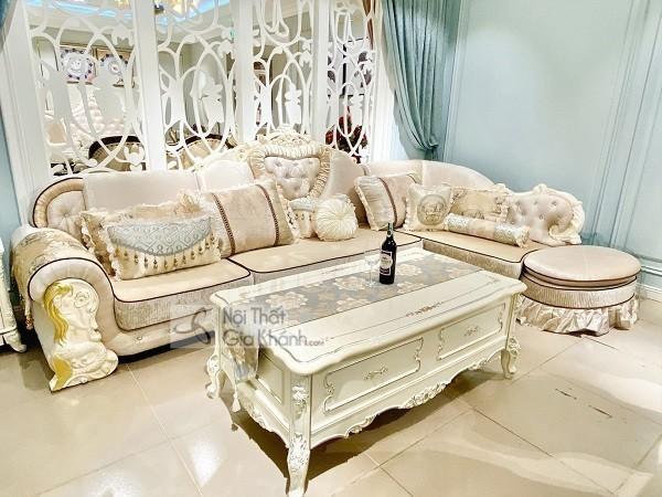 Sofa Tân Cổ Điển Hoàng Gia