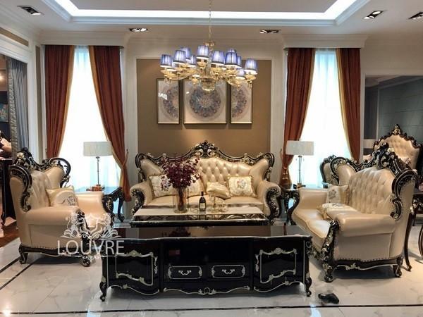 Sofa gỗ gõ đỏ - Sofa của giới quý tộc thượng lưu