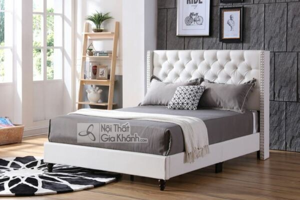 Giường Ngủ Gỗ Tự Nhiên Tân Cổ Điển