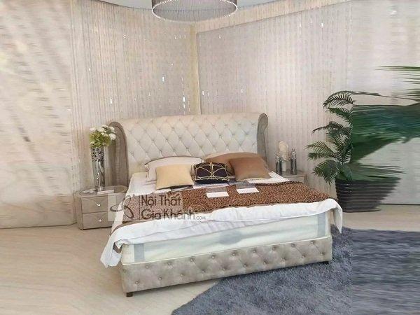 Giường ngủ gỗ óc chó phong cách Ý
