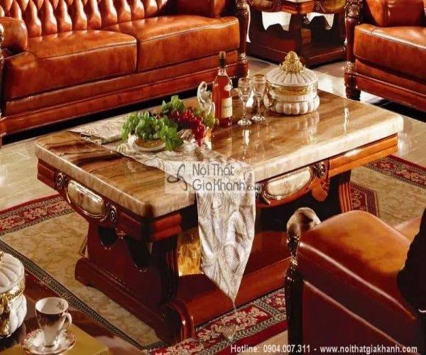 Tổng hợp những mẫu bàn trà gỗ tự nhiên cao cấp nhất