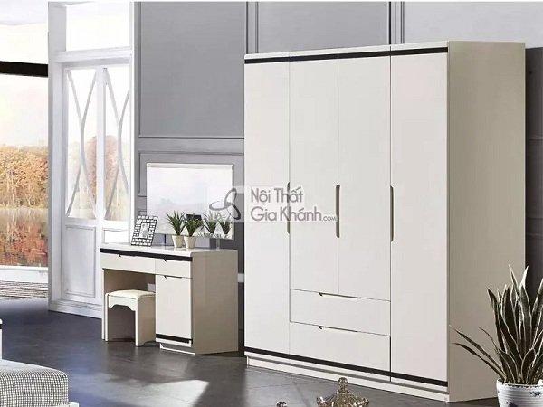 Tủ quần áo gỗ 4 cánh - Sự lựa chọn hoàn hảo cho mọi gia đình