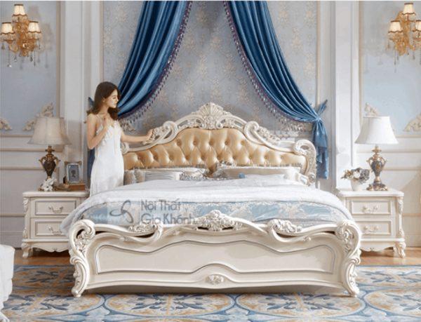 Mẫu Giường Ngủ Đơn Phong Cách Tân Cổ Điển Châu Âu