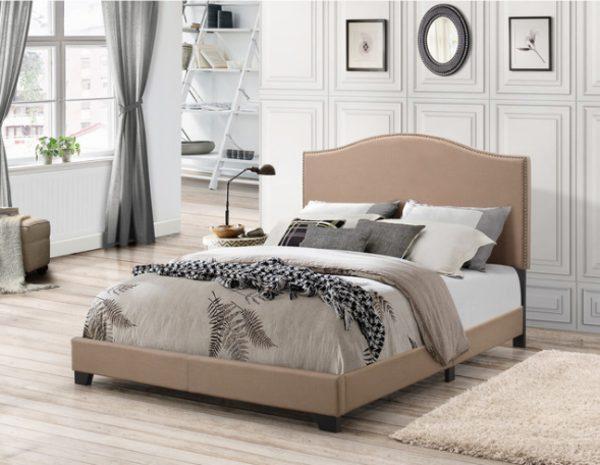 Giường Ngủ Đơn Màu Nâu