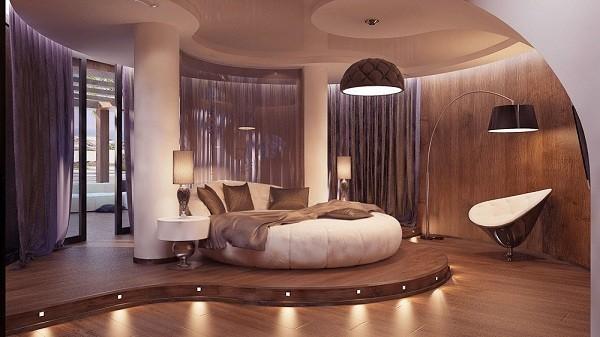 Giường Gỗ Tròn Đẹp
