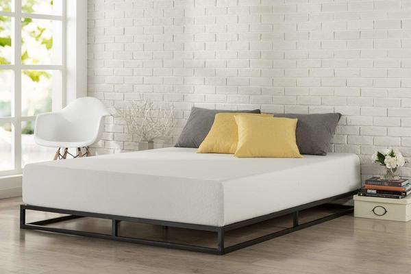 Giường thấp sàn gỗ công nghiệp