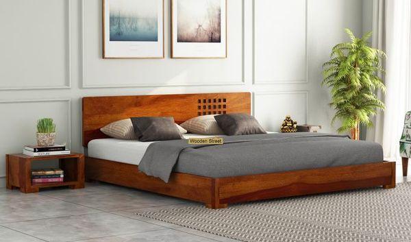Mẫu giường kết hợp cây xanh