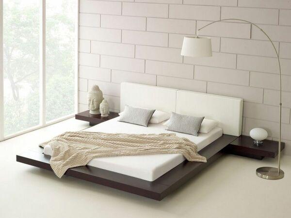 Giường ngủ thấp sàn 1