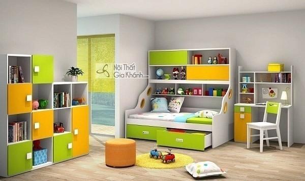 Phát cuồng vì những mẫu giường 2 tầng gỗ đẹp cho bé