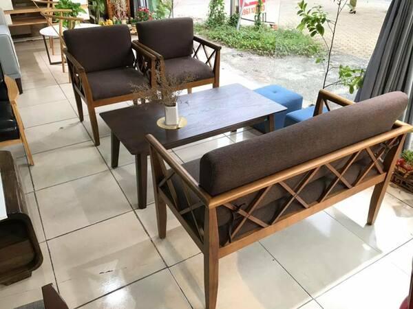 Sofa Cafe Kích Thước Nhỏ Gọn