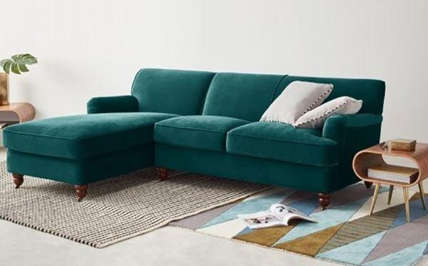 Vệ sinh sofa tại nhà sofa nhung