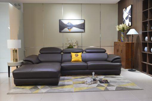 Ghế Sofa Da Phòng Khách Đẹp Sp0933-2-A1
