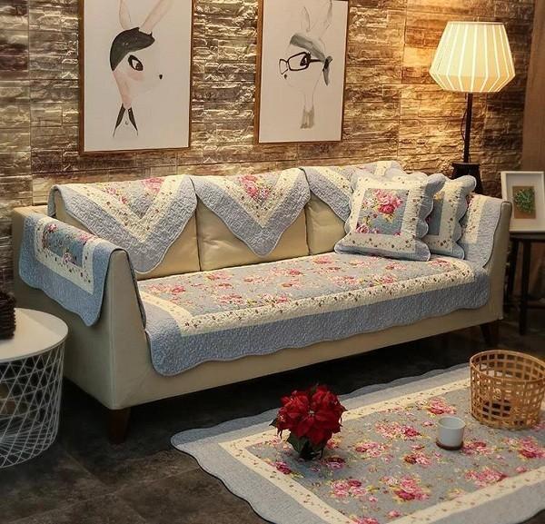 Thảm Lót Sofa Cotton