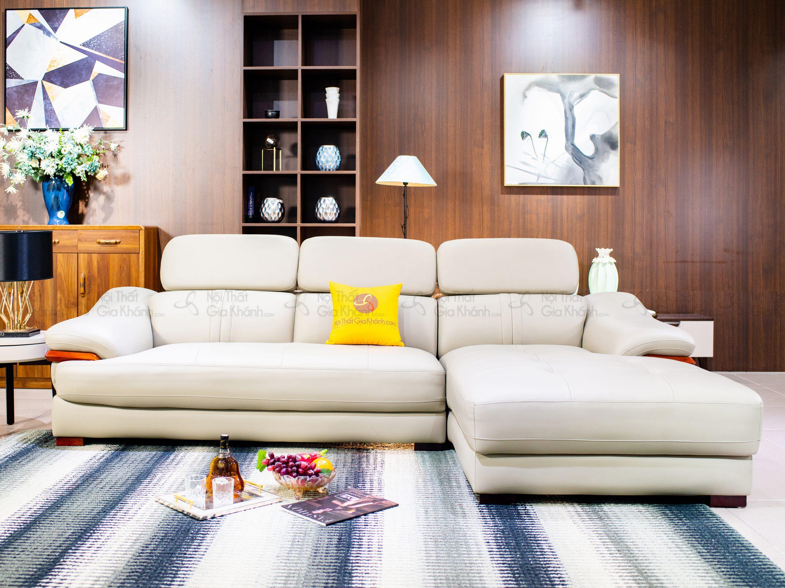 Sofa da 2 băng góc trái ST0672-2-B1